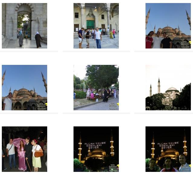 CLICCA QUI PER VISUALIZZARE IL Book fotografico di Istanbul (Turchia)