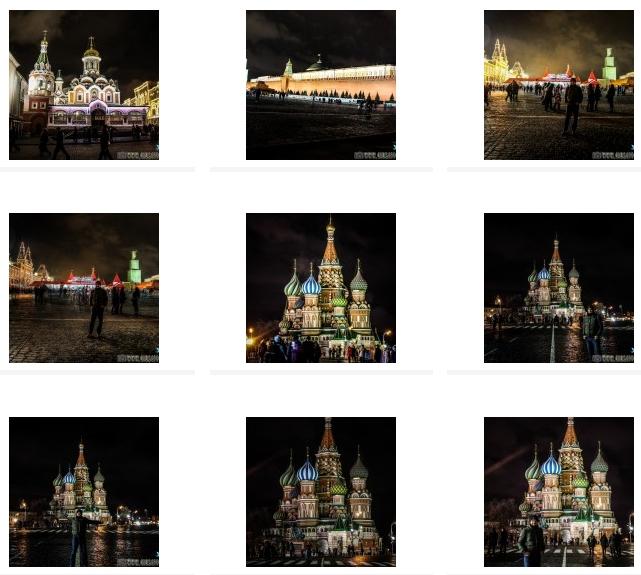 CLICCA QUI PER VISIONARE IL Book fotografico di Mosca (Russia) 2014