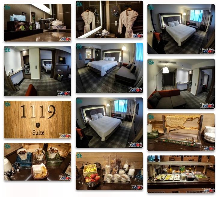 Il book fotografico completo del Novotel Hotel Sofia