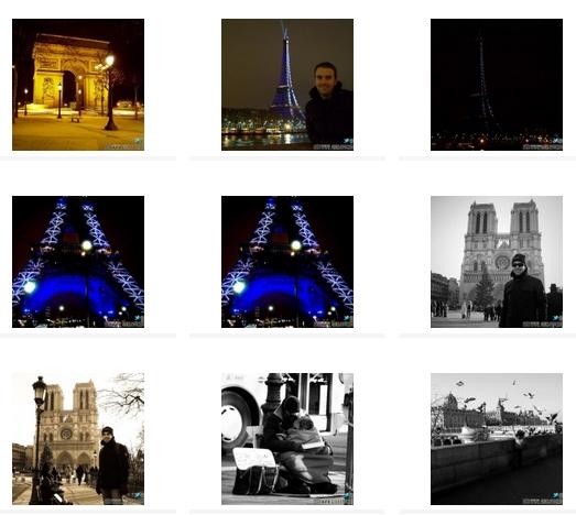 CLICCA QUI PER QUARDARE IL Book fotografico di Parigi (Francia)