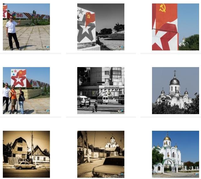 CLICCA QUI PER VISUALIZZARE Il Book fotografico di Tiraspol (Transnistria)