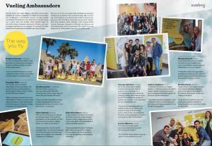 Un articolo sugli Ambasciatori Vueling! 5 foto su 6 sono scattate da me!