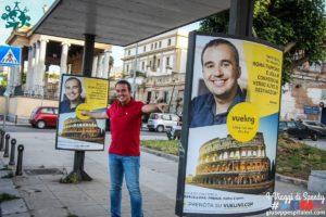 Un anno da Ambasciatore Vueling per Palermo: manifesti, foto e video! Thanks Vueling Airlines