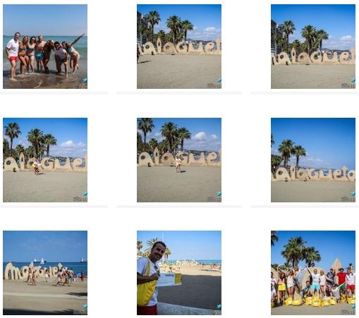 CLICCA QUI PER VISUALIZZARE IL Book fotografico di Malaga (Spagna) con Vueling