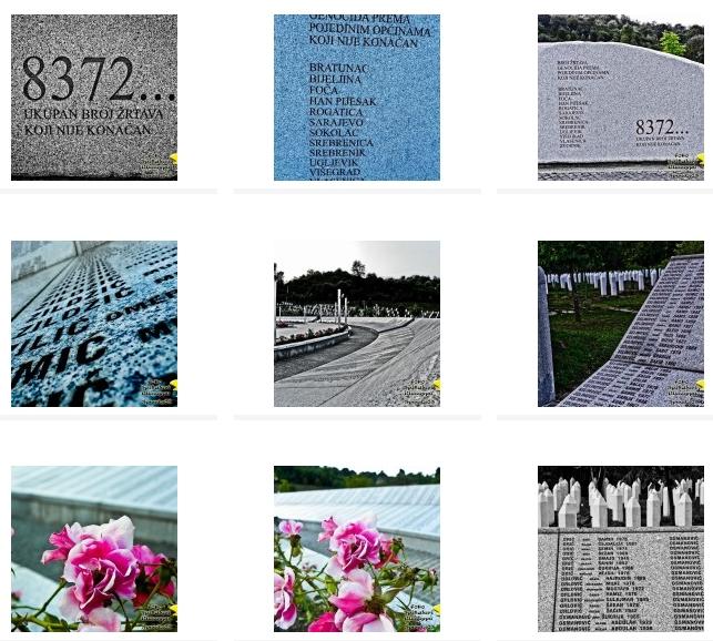 CLICCA QUI PER VISUALIZZARE Il book fotografico del Cimitero di Srebrenica (Bosnia Erzegovina)