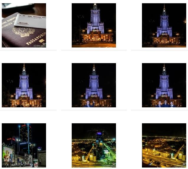 CLICCA QUI PER VISUALIZZAREIl book fotografico di Varsavia del 2013
