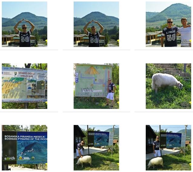 CLICCA QUI PER VISUALIZZARE Il book fotografico delle piramidi di Visoko (Bosnia Erzegovina)