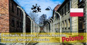 Auschwitz, Birkenau, Cracovia, Rzeszów, Terespol, Varsavia, Wadowice – Cosa vedere in Polonia