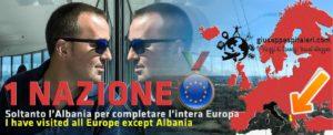 La mia mappa interattiva dell'Europa: foto, video, storia e tanto altro di ogni stato! Ho visitato tutte le nazioni tranne l'Albania