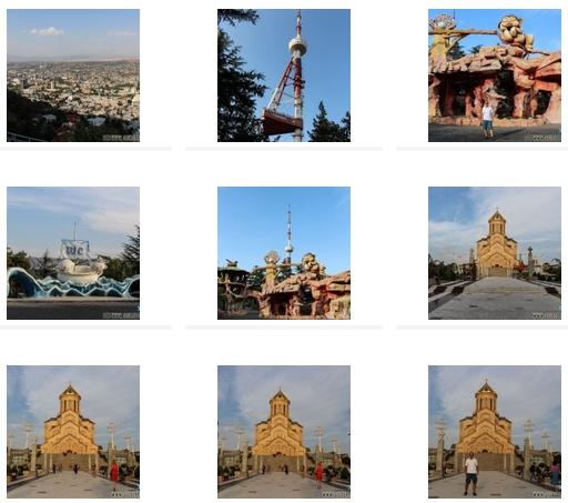 Il Book fotografico di Tbilisi(Georgia)