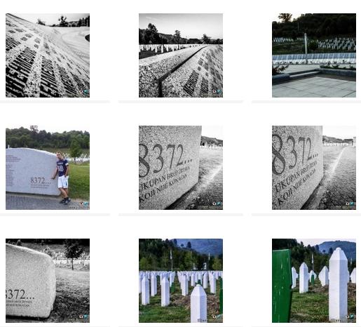 IL Book fotografico del Cimitero Potočari (8372) – Srebrenica (Bosnia Erzegovina)