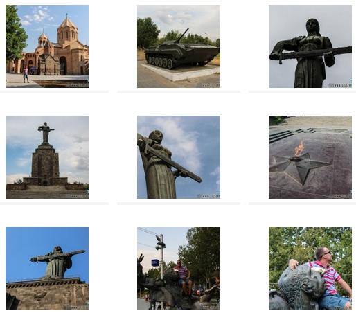 Il Book fotografico di Yerevan, Garni ,Geghard (Armenia)