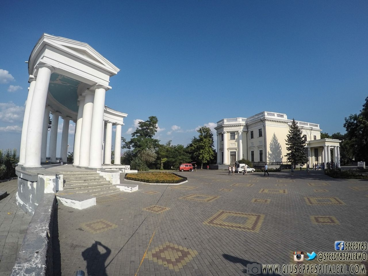 Il Colonnato del Palazzo Vorontsov