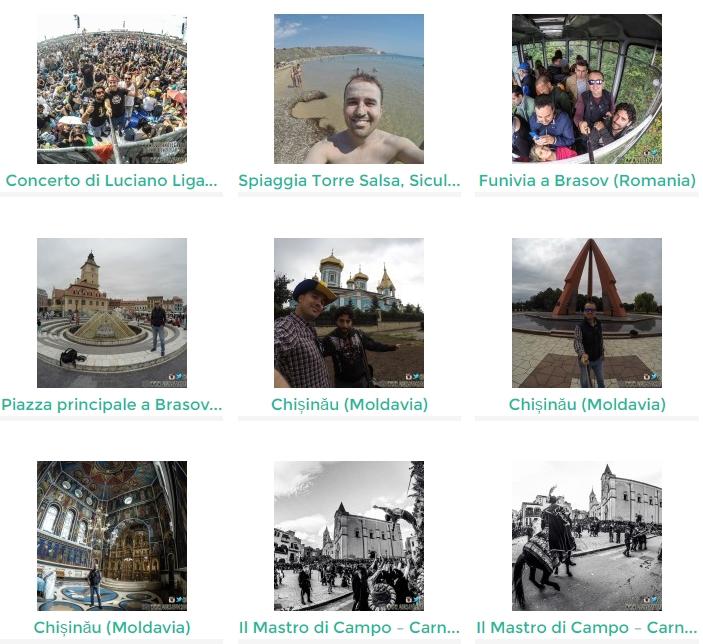 Clicca qui per visionare le foto alcune foto GoPro