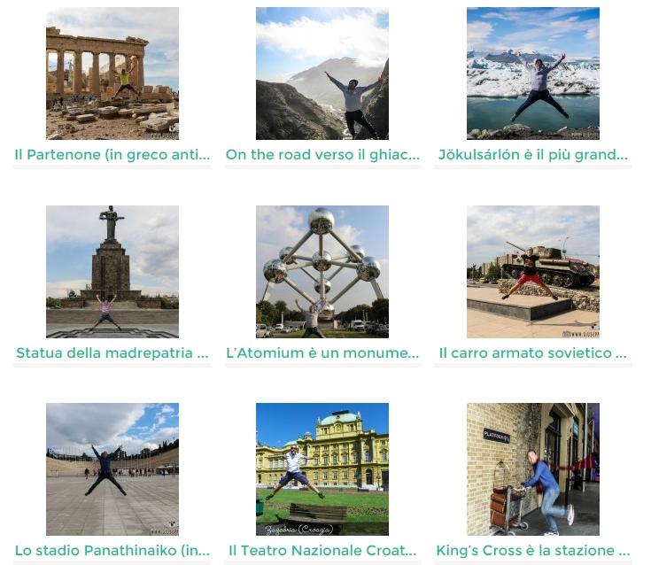 """Clicca qui per visionare tutte le foto """"in volo"""" girovagando per il mondo"""
