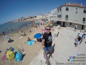 Foto –  Punta Secca e la casa del Commissario Montalbano (Ragusa)