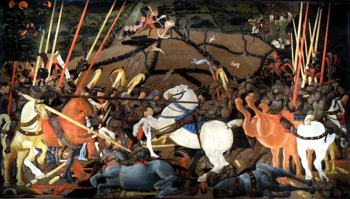 Paolo Uccello, Battaglia di San Romano