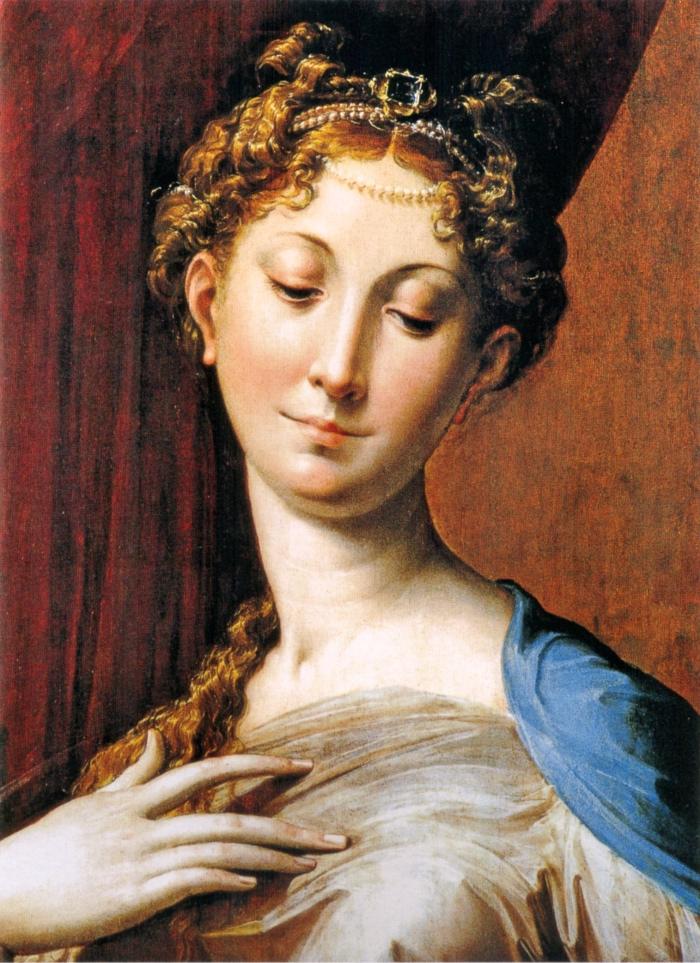 Madonna col Collo Lungo, Parmigianino