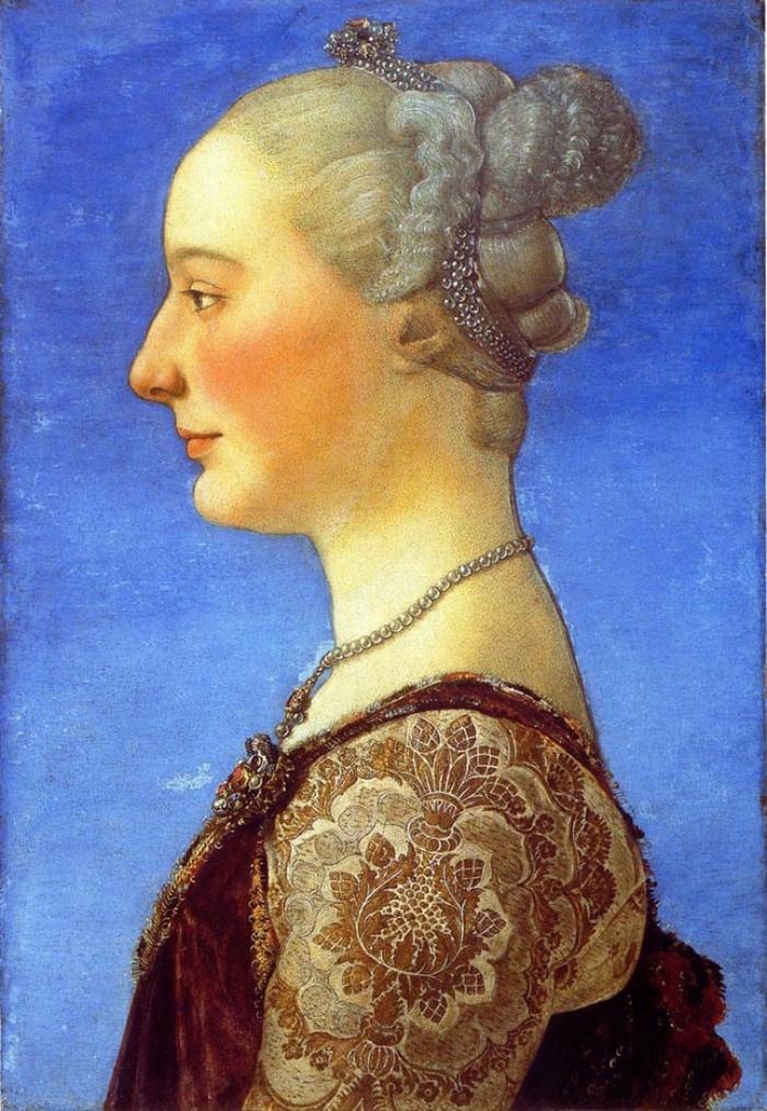 Piero del Pollaiolo,  Ritratto femminile