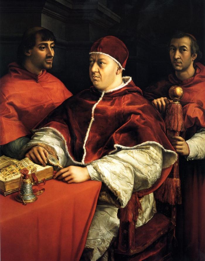 Raffaello, Ritratto di Leone