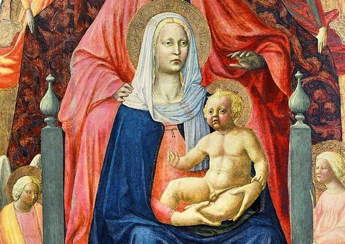 Masolino da Panicale, Madonna col Bambino e sant'Anna