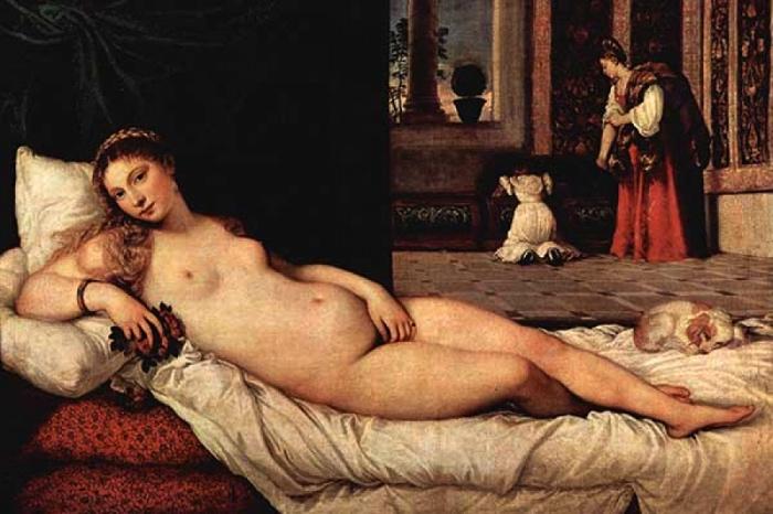 Tiziano, Venere da Urbino