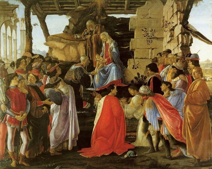 Botticelli, Adorazione dei Magi