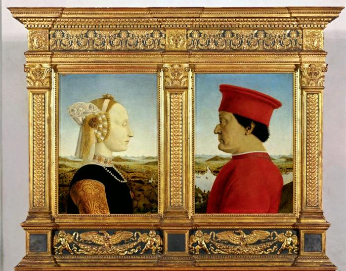 Piero della Francesca, I Duchi di Urbino.