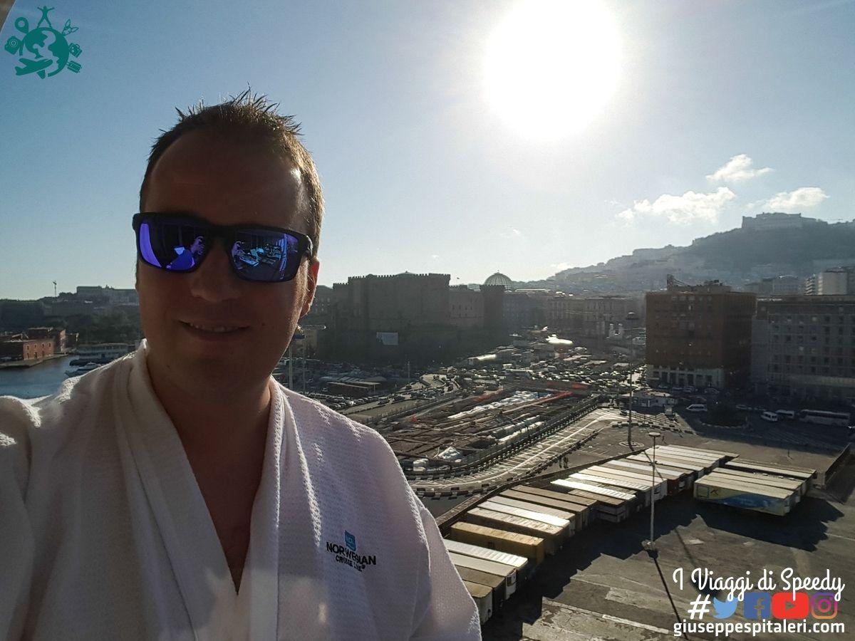 Vista su Napoli dalla lussuosa Mandara Spa