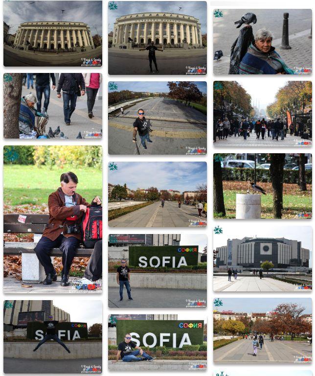 Il Book fotografico di Sofia (Bulgaria) - 2018