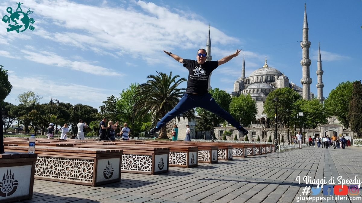 Un salto alla Moschea Blu di Istanbul (Turchia)