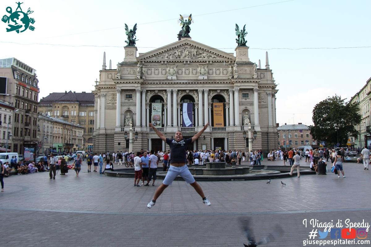 Un salto al Teatro dell'Opera di Leopoli.Leopoli (Ucraina)