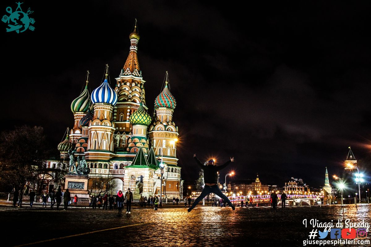 Un salto a Piazza Rossa a Mosca (Russia)