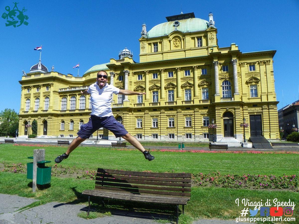 Un salto al Teatro Nazionale Croato di Zagabria (Croazia)