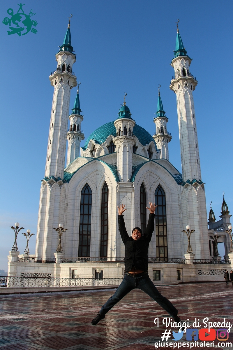 Un salto alla moschea Qol-Şärif a Kazan. Tatastan (Federazione Russia)