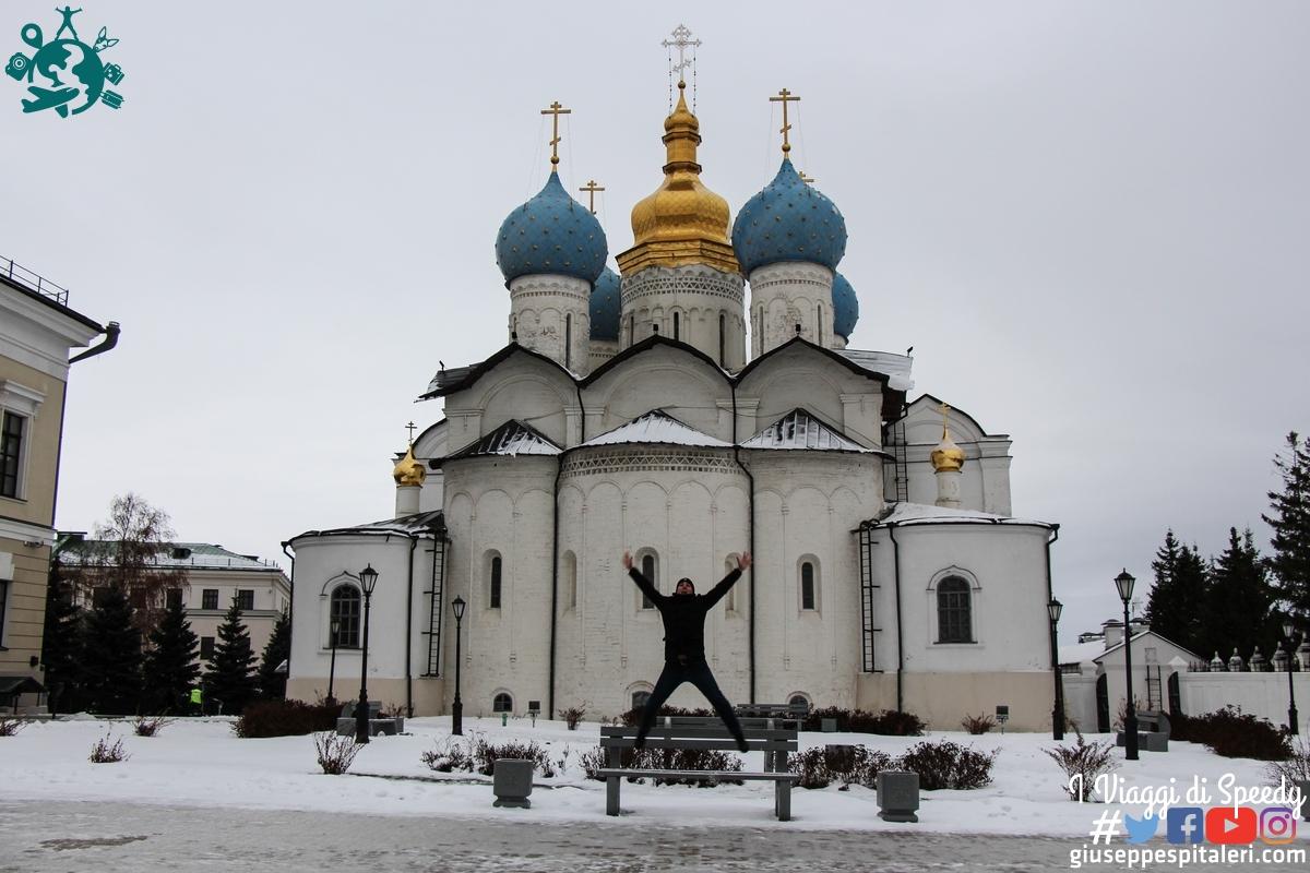 Un slto alla Cattedrale dell'Annunciazione del Cremlino di Kazan (Tatastan/Federazione Russa)