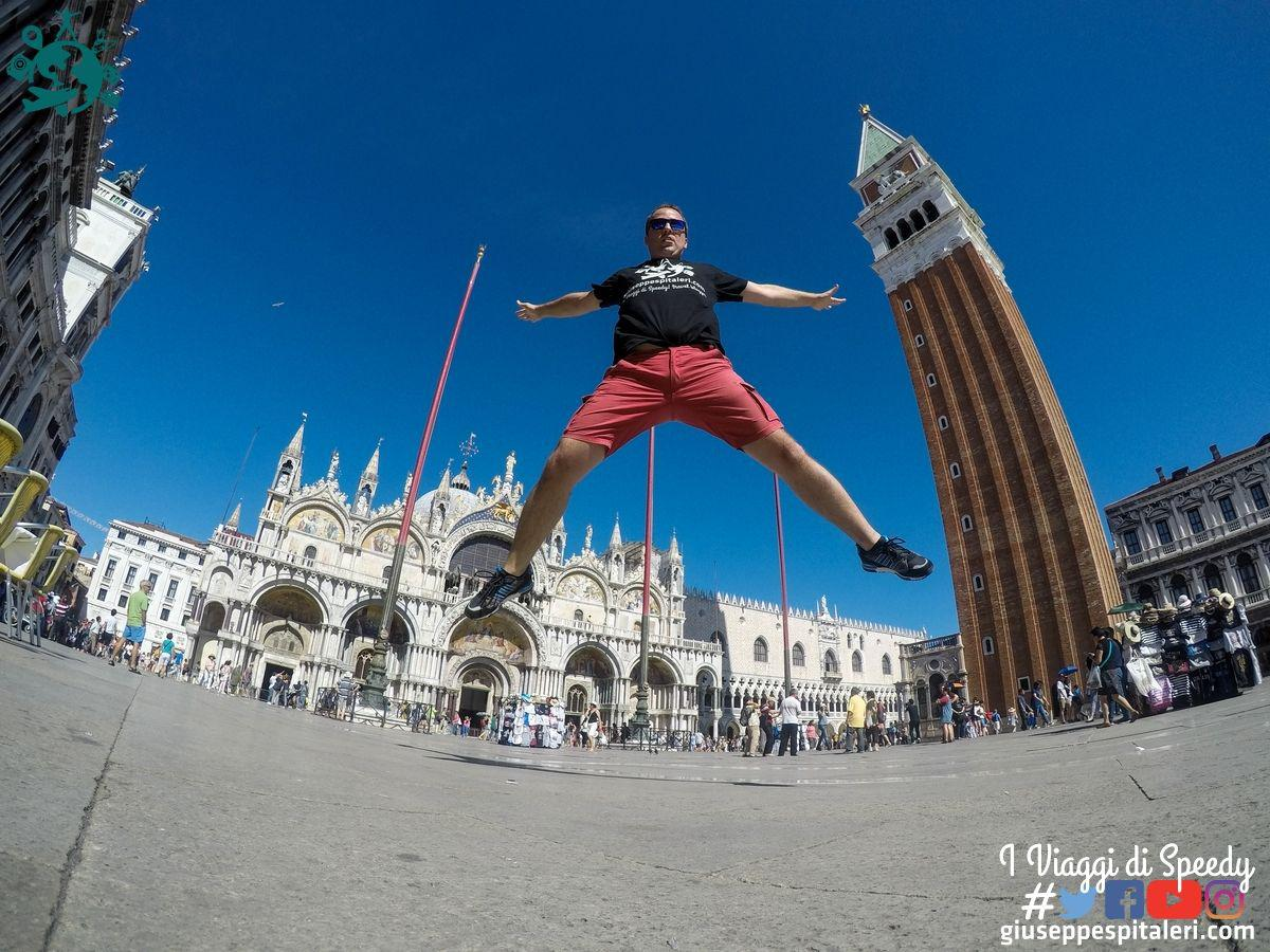 Un salto a Piazza San Marco a Venezia (Italia)