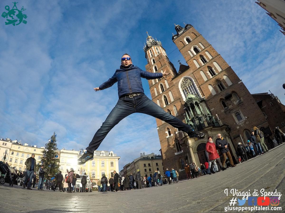 Un Salto nella Piazza del Mercato di Cracovia (Polonia)