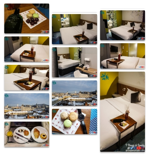 Il book fotografico del mio soggiorno l'Hotel ibis Styles Lviv Center