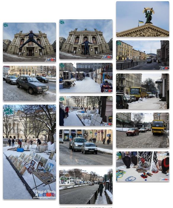 Il book fotografico di Leopoli/Lviv - Inverno 2018
