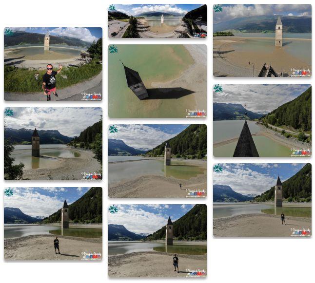 Visualizza il book fotografico completo del Lago di Resia