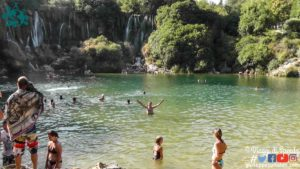 Le Cascate Kravice/Kravica della Bosnia ed Erzevovina vicine a Mostar e Međugorje