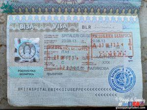 Visto per la Bielorussia: costo, documentazione e tempi dell'Ambasciata Bielorussa