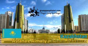 Kazakhstan tra la vecchia capitale Almaty e la nuova capitale Astana