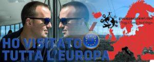La mia mappa interattiva dell'Europa: foto, video, storia e tanto altro di tutti le nazioni che ho visitato
