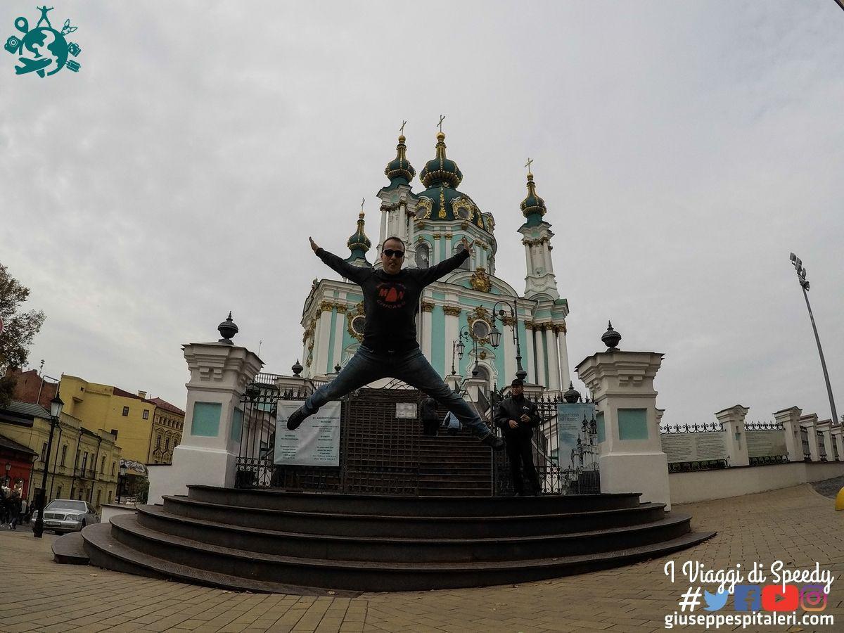 Un salto alla Cattedrale di Sant'Andrea a Kiev (Ucraina)
